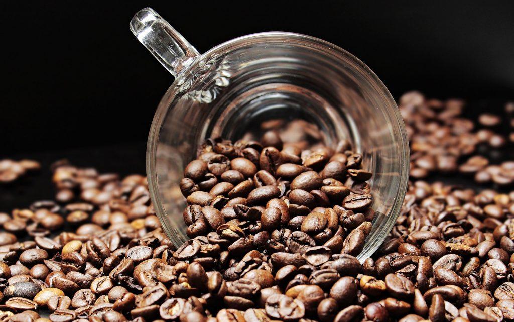 Koffie met bonen - Coffeeboon