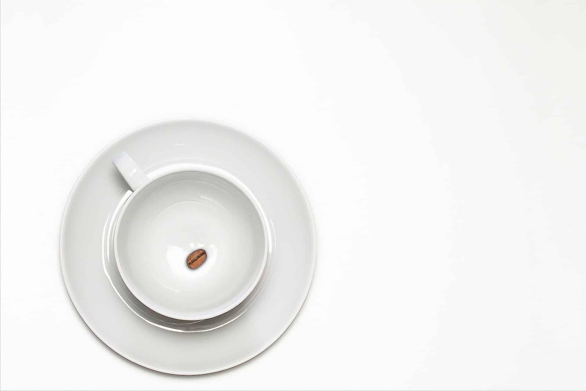 Koffiekop met pit - Coffeeboon