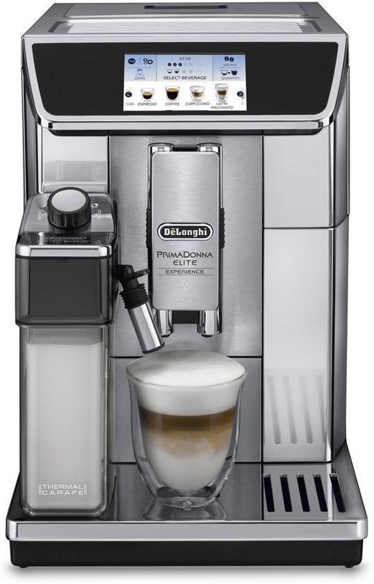 De'Longhi PrimaDonna Elite Experience beste koffiemachine - coffeeboon