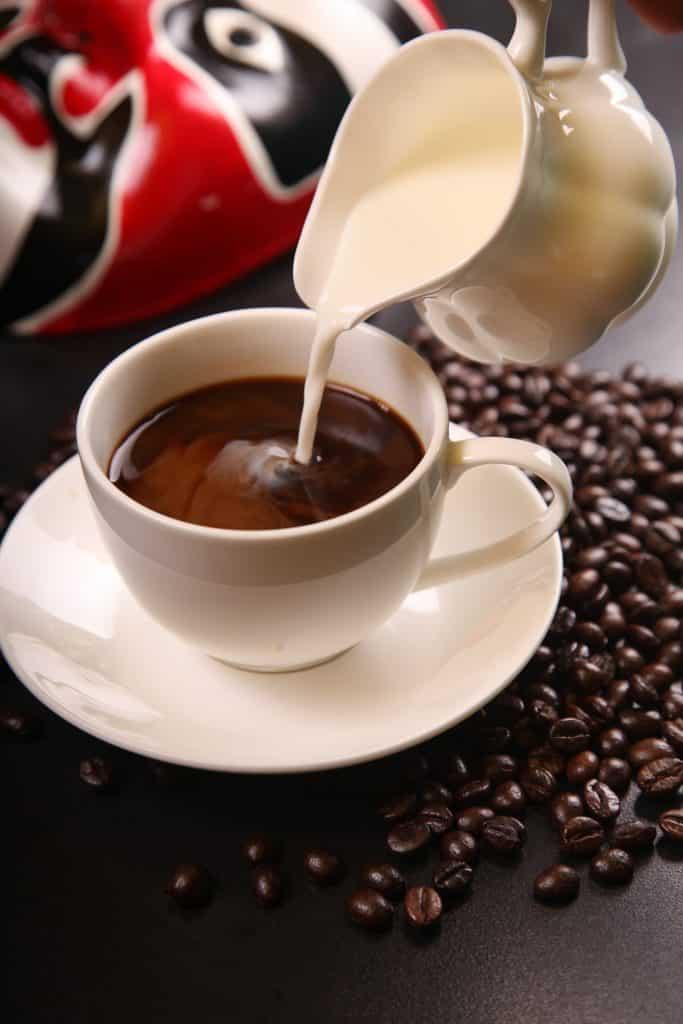 Parkinson, drink koffie